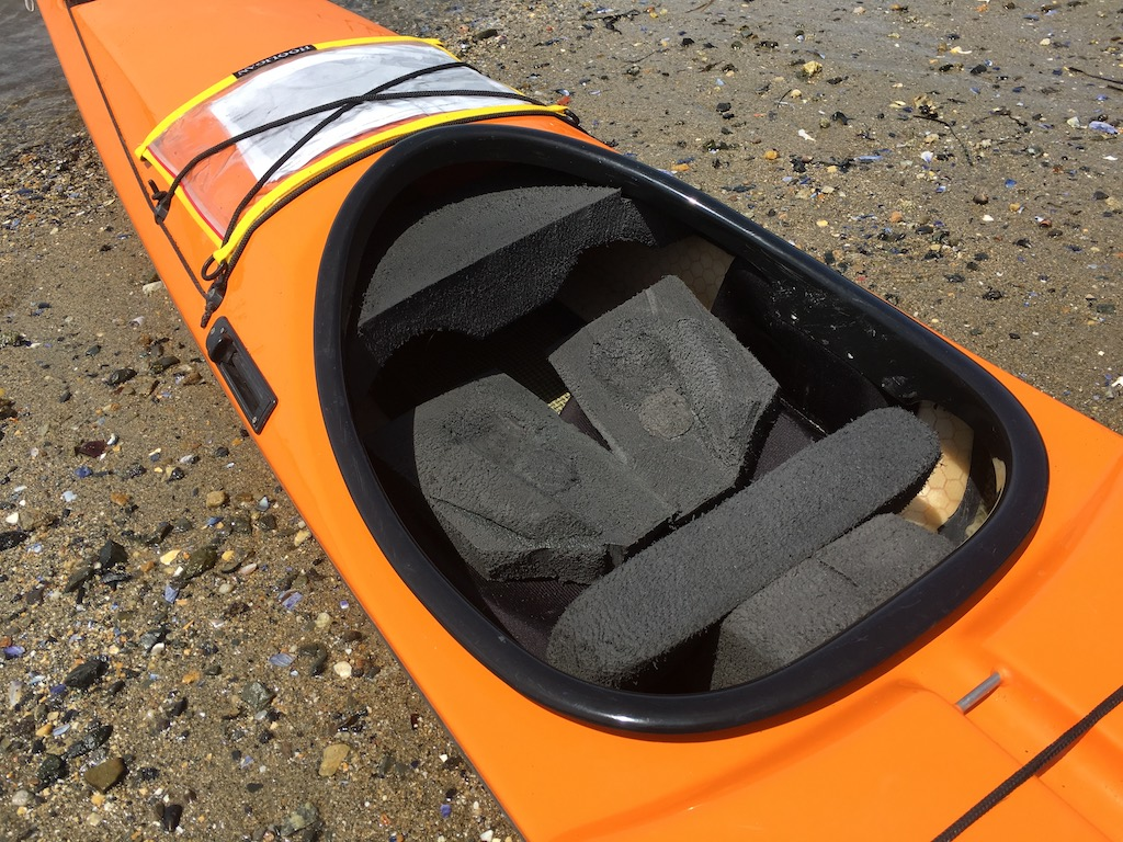 Custom Foam Fitting Greenland Kayak