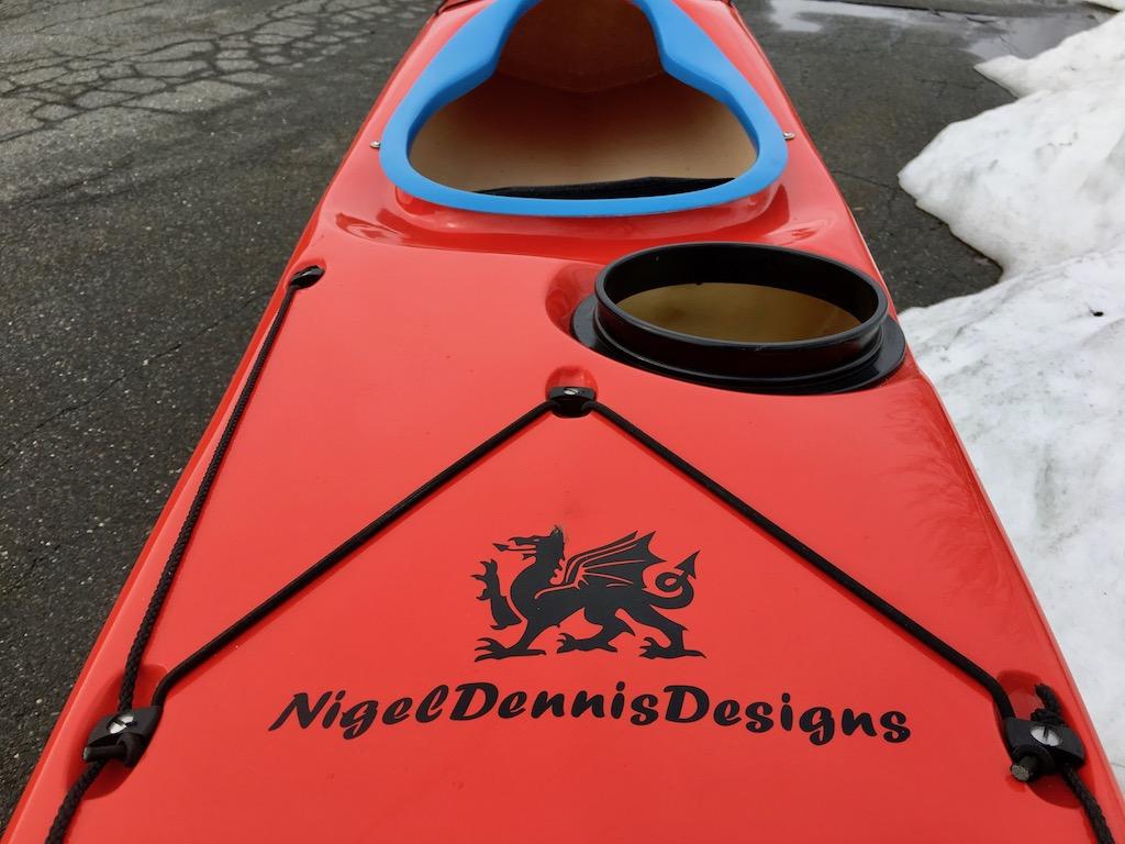 NDK Explorer LV rear deck dragon