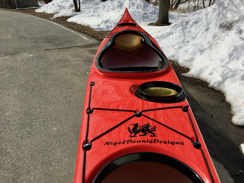 Romany Surf r:w:blk rear deck
