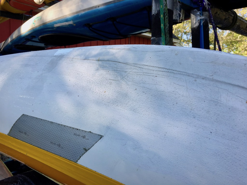 NDK Romany hull and keel strip