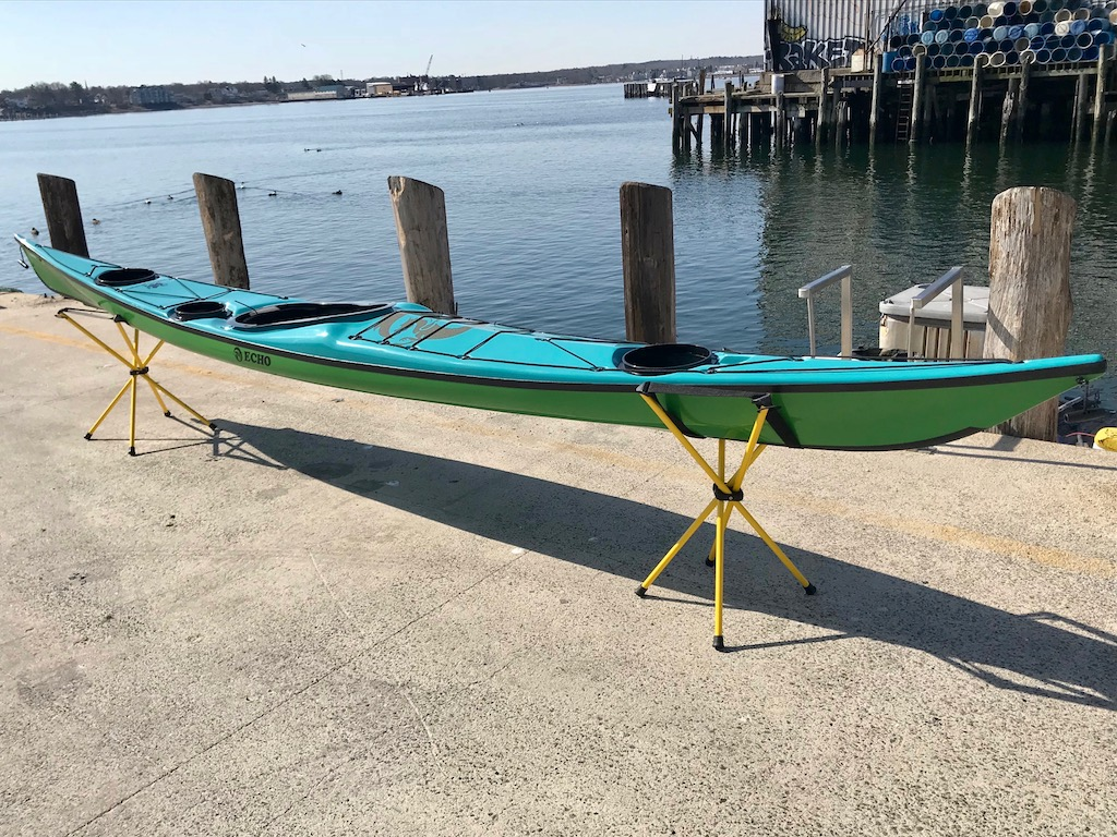 NDK Echo starboard bow