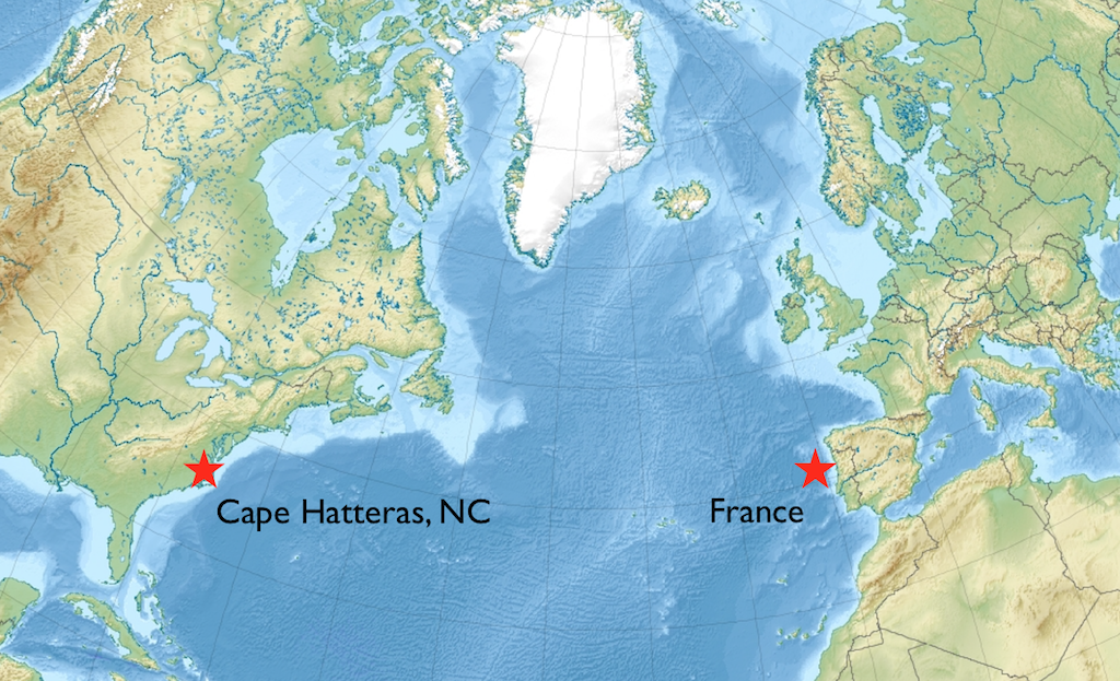 North Atlantic Ocean