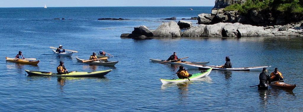 Greenlandic paddlers
