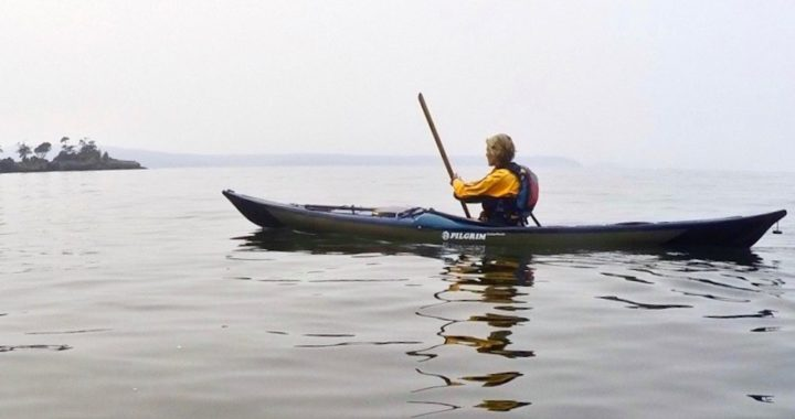 Paddling Greenland-style