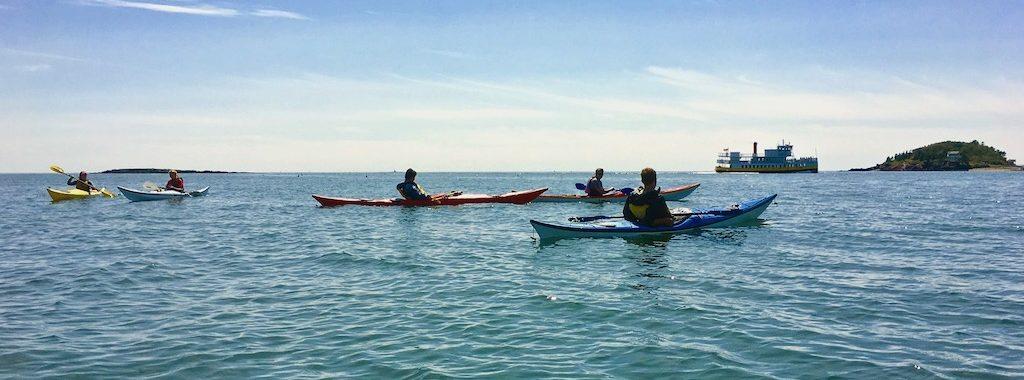 Sea Kayaking in Casco Bay