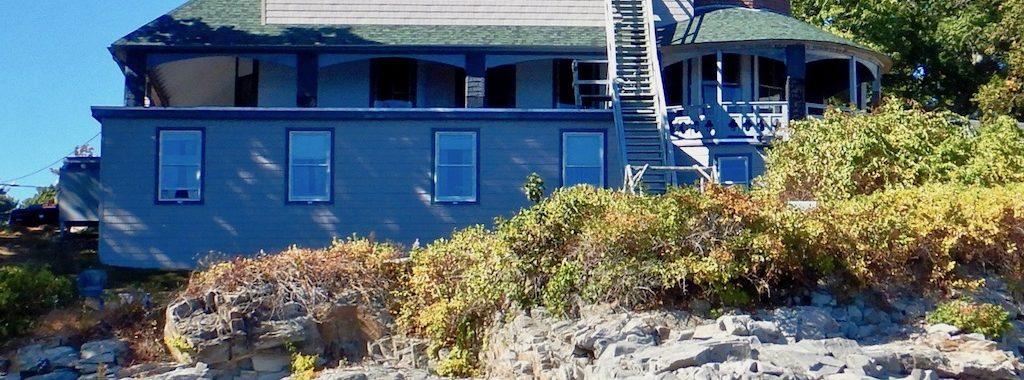 8th Maine, Peaks Island