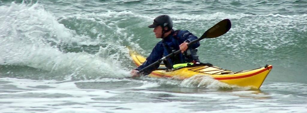 Dale Williams kayaking surfing