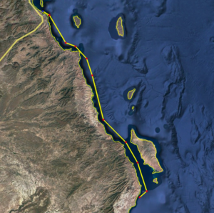 Loreto to La Paz