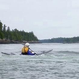 Kayaking in Reversing Falls